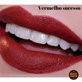 Eudora soul Kiss me labial FPS10 Vermelho sucesso