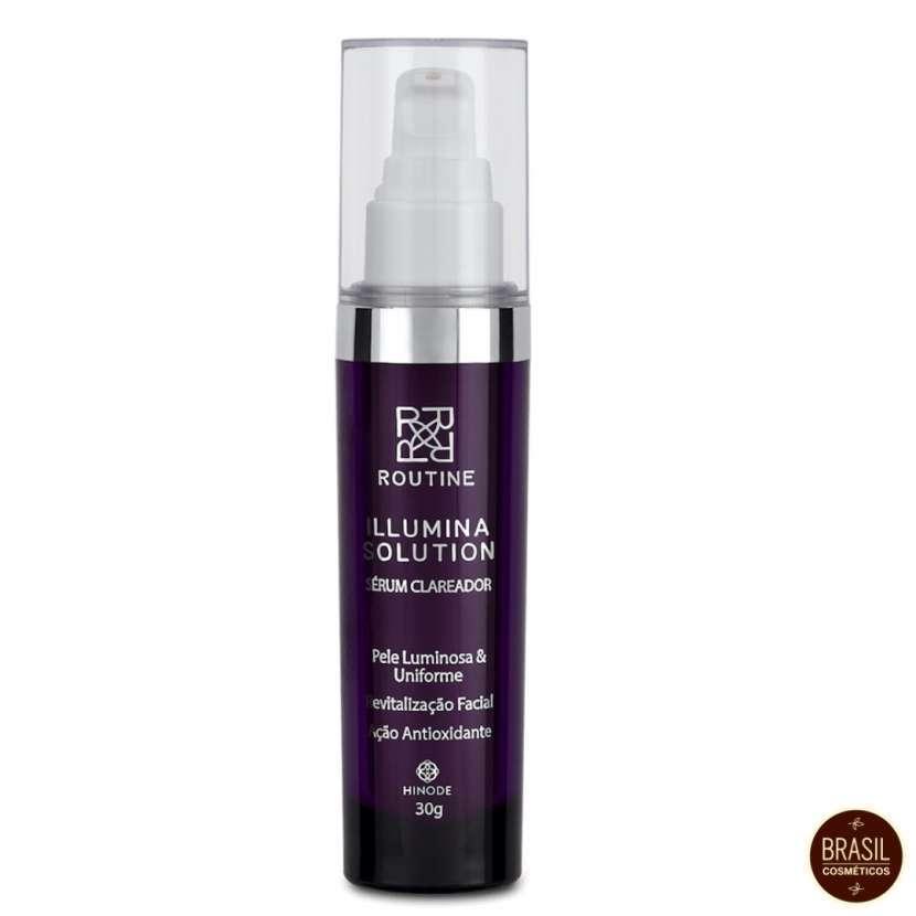 Serum aclarador facial illumina solution routine 30g - 0