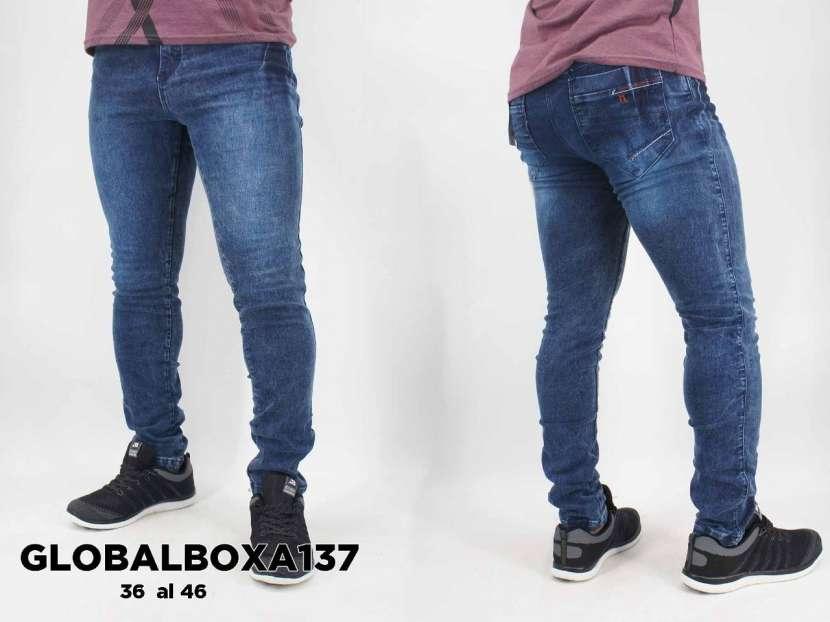 Jeans clásico elastizado GLOBALBOXA137 - 0
