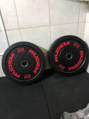 Bumpers de 25 kg Rudem