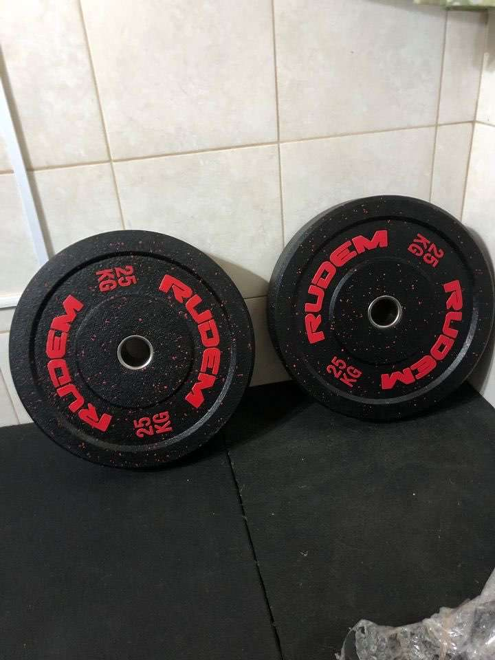 Bumpers de 25 kg Rudem - 0