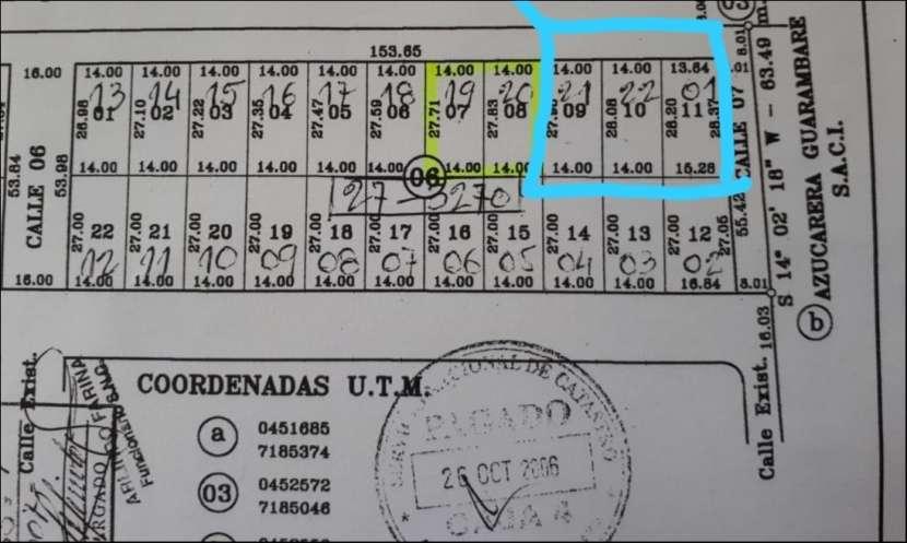3 terrenos juntos en Ypané Paso de Oro III - 2