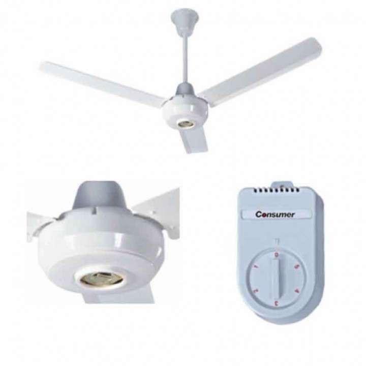 Ventilador de techo Consumer 56 pulgadas - 0