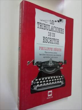 Libro las tribulaciones de un escritor