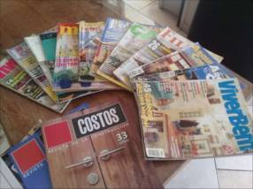Lote de revistas de arquitectura y construcción