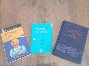 Libro de entretenimiento cocina y novela