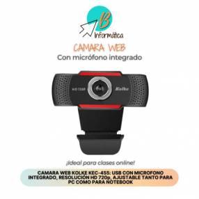 Cámara Web con micrófono integrado HD 720p
