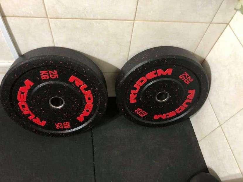 Bumpers de 25 kg Rudem - 1
