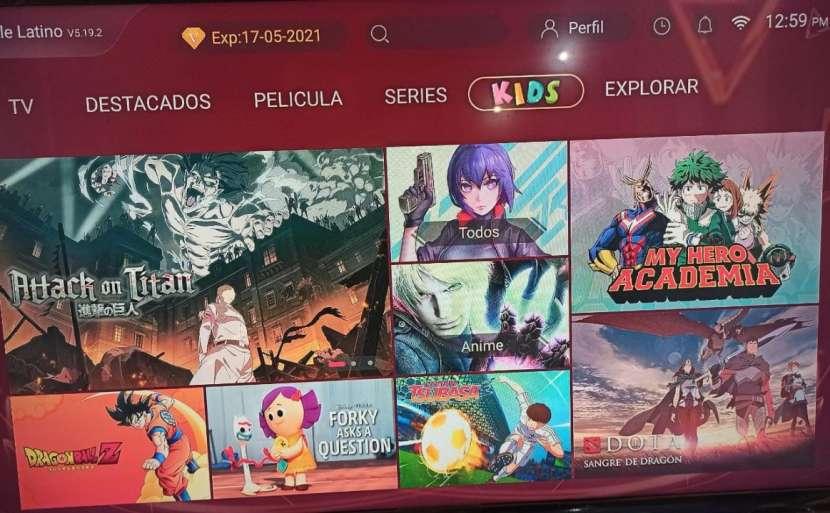 Tv box con tv latino - 3