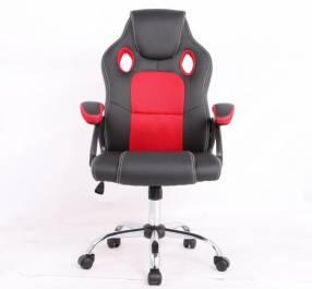 Silla gamer rojo/negro 100 Kg RGA