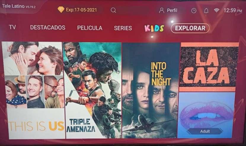 Tv box con tv latino - 5