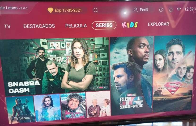 Tv box con tv latino - 2