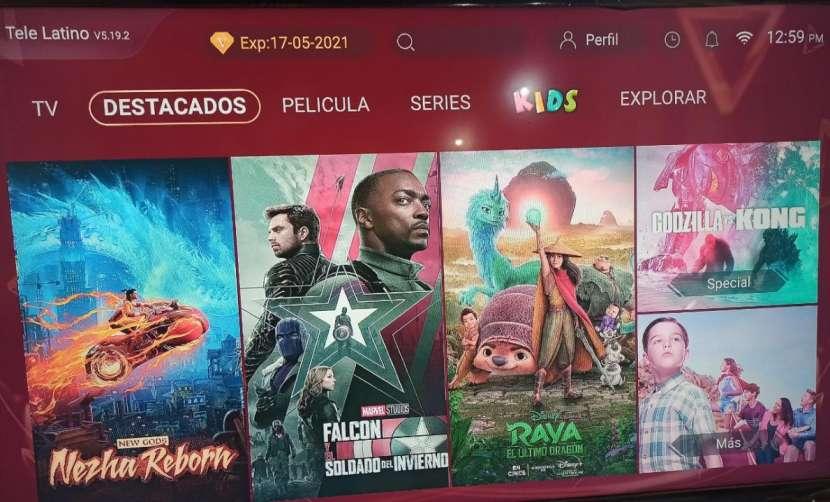 Tv box con tv latino - 1