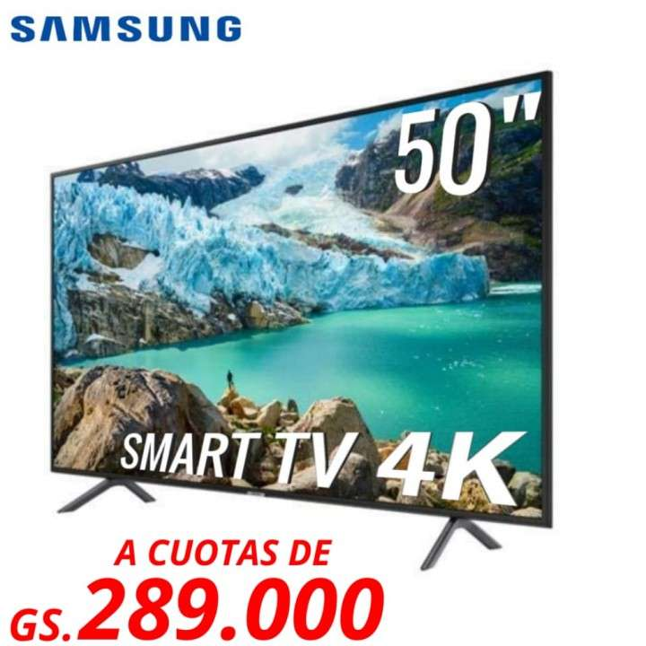 Smart tv 4k Samsung 50 pulgadas - 0