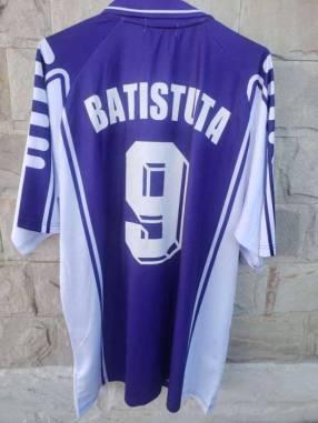 Casaca Fiorentina temporada 1999 Bastituta nº 9