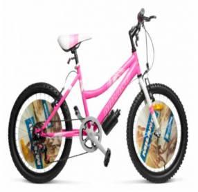 Bicicleta Milano Action dama lila/rosado aro 20