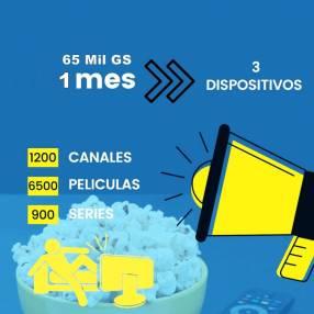 IPTV con 1200 canales cuenta con películas, series ilimitado