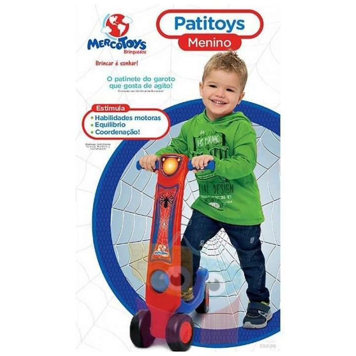 Monopatín Patitoys Spider-Man Niño MercoToys - 1