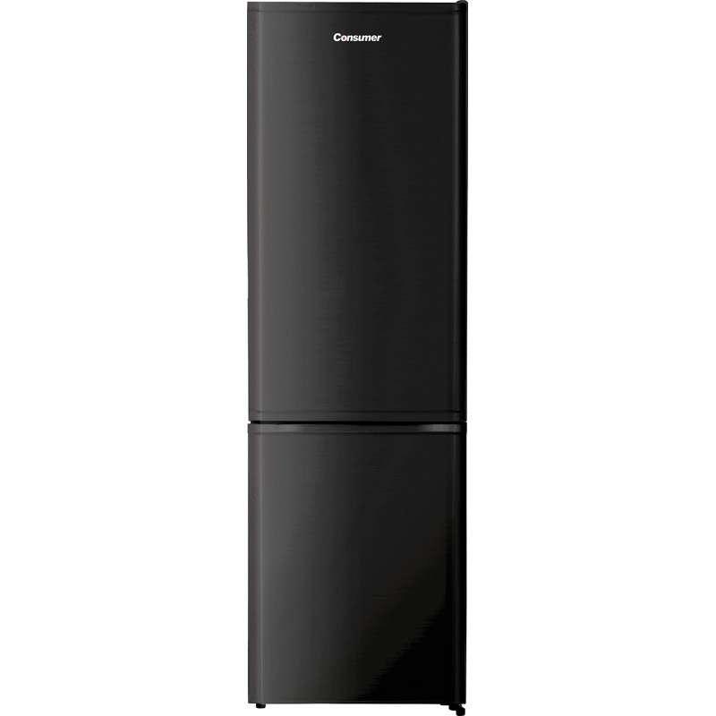 Heladera freezer Combi Consumer 350 litros doble puerta frío húmedo negro - 2
