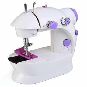 Mini máquina de coser eléctrica multifuncional