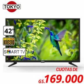 Smart tv tokyo de 42 pulgadas full hd con soporte
