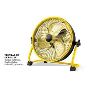Ventilador de piso 16 pulgadas Consumer 55W - 1