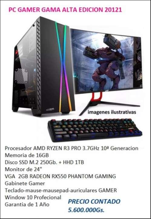 PC-GAMER Gama Alta Ryzen 3 - 0