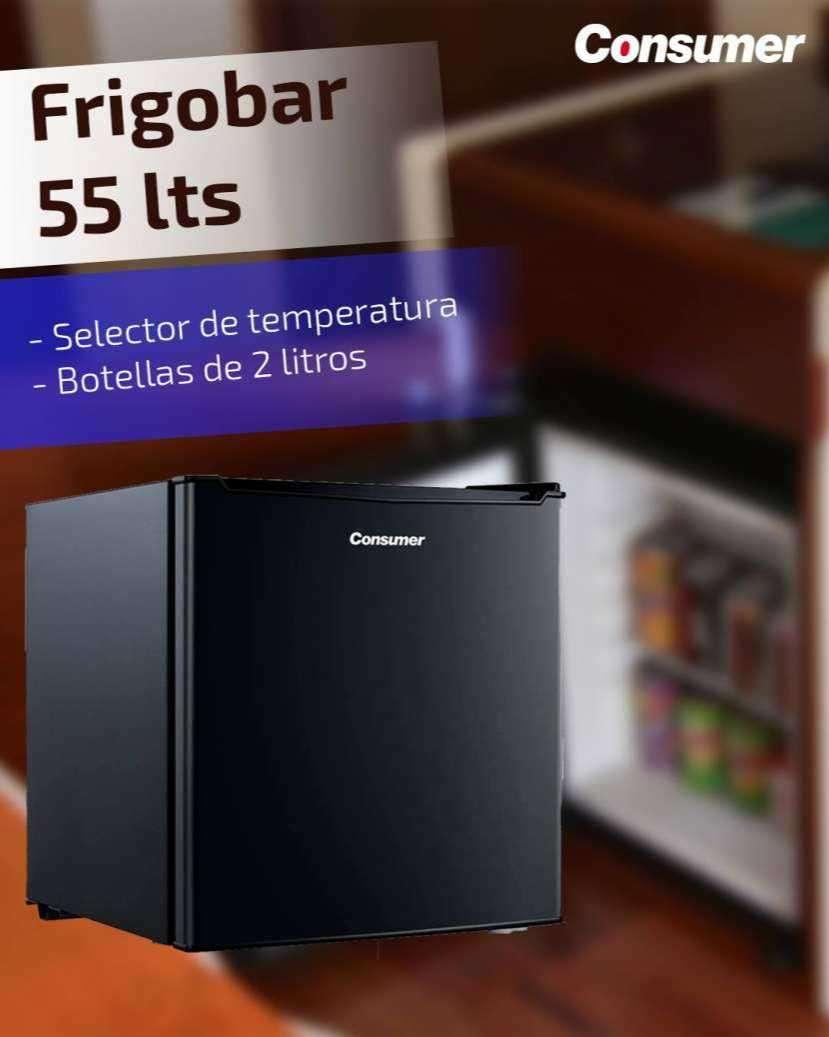 Frigobar Consumer 55 litros negro - 1