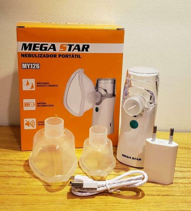 Nebulizador Mega Star portátil MY126 - 0