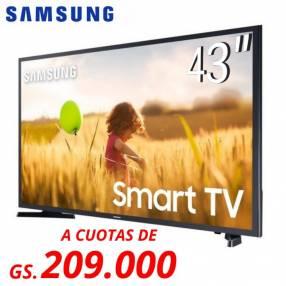 "Tv samsung 43"" fhd smart un43t5202agxzs"