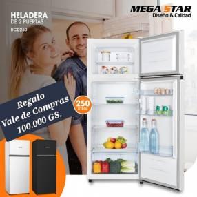 Heladera Mega Star BCD 250 litros