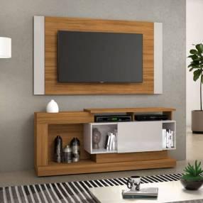 Rack y panel para tv de hasta 55