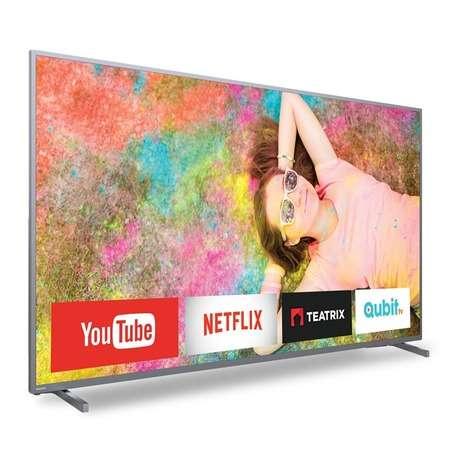 """Tv Philips Smart 4K 70"""" - 0"""