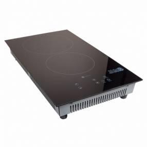 Cocina Jam 2 hornallas vitrocerámica modelo 400VC 3000W infrarrojo