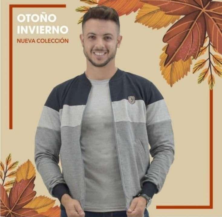 Suéter para hombre con cierre - 1