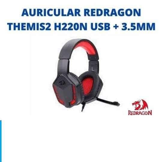 AURICULAR REDRAGON THEMIS2 H220N USB + 3.5MM - 0