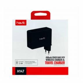 Havit HV-H147 WIRELESS CHARGER/POWERBANK (50019)