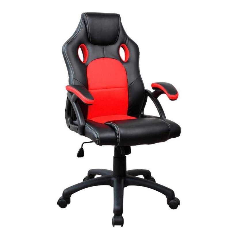 Silla gamer rojo/negro consumer (20071) - 0