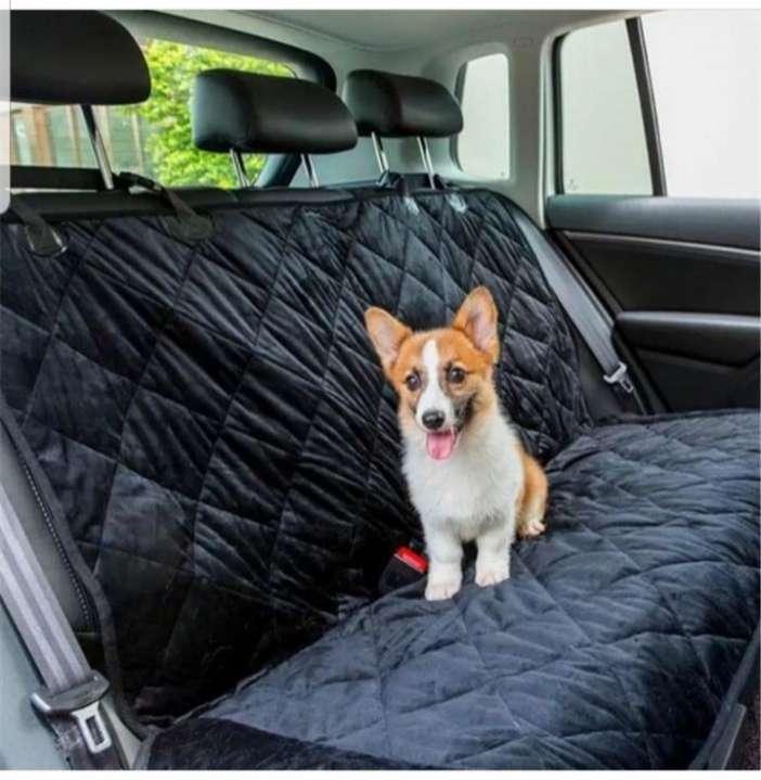 Funda reversible para asiento trasero del coche - 0