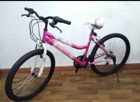 Bicicleta aro 26 rosado Milano