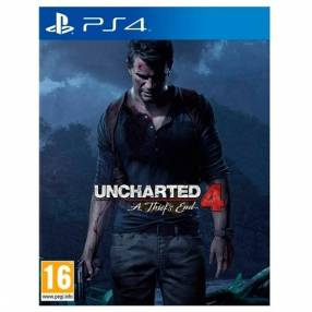 Game Uncharted 4 A Thief's End Playstation 4
