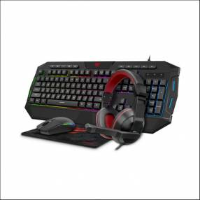 Gamer 4 en 1 havit kb501cm tec/mouse/aur/pad