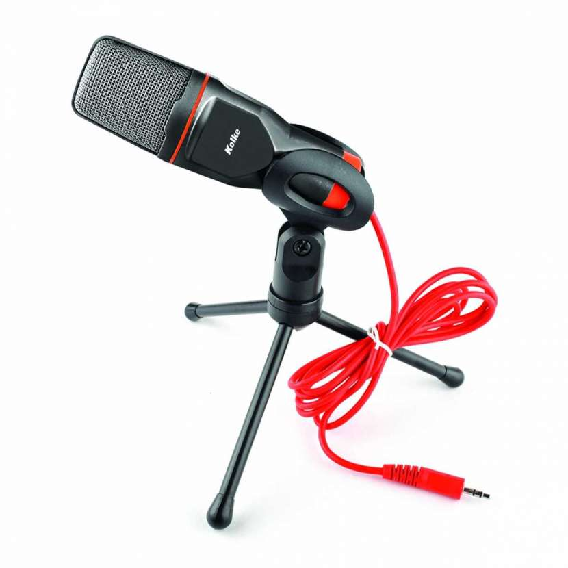Micrófono con trípode kpi-047 kolke (10085 - 0
