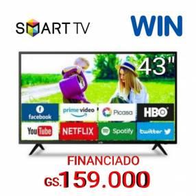 Smart tv full HD Win 43 pulgadas