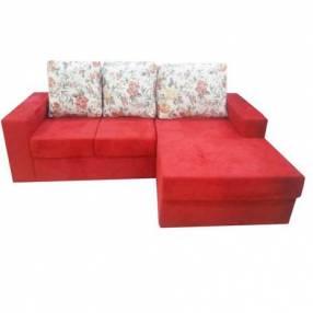 Sofa esquinero carina rojo