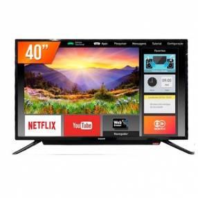 "Televisor ecopower 40"" smart c"