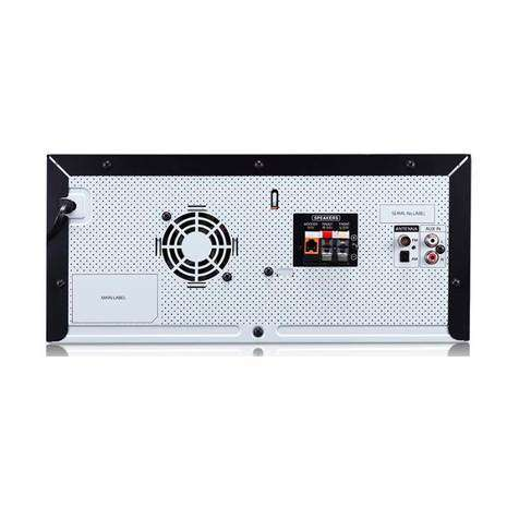 Equipo de sonido lg cj45 8640 - 1
