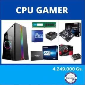 CPU gamer décima generación