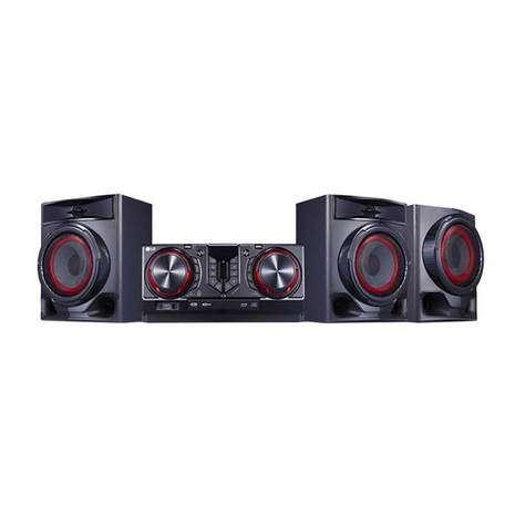 Equipo de sonido lg cj45 8640 - 0