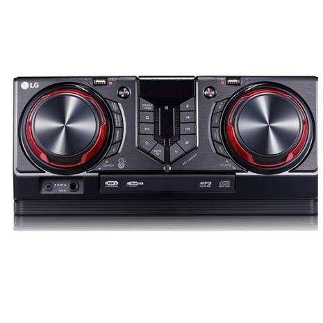 Equipo de sonido lg cj45 8640 - 2